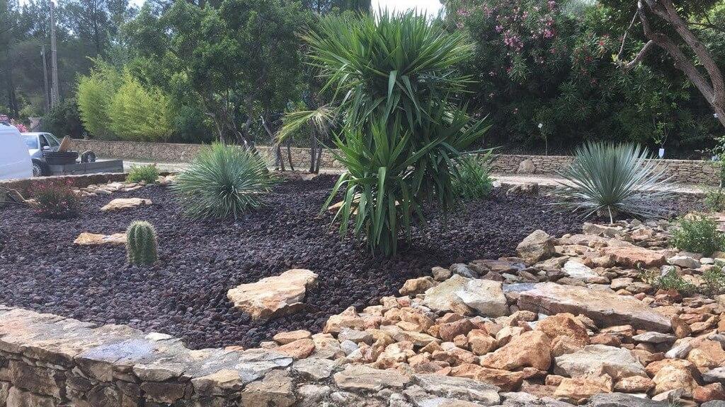 Creation jardin rocaille